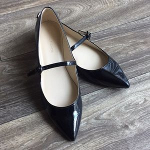 Mac Fisher Black Patent Leather Mary Janes Size 8
